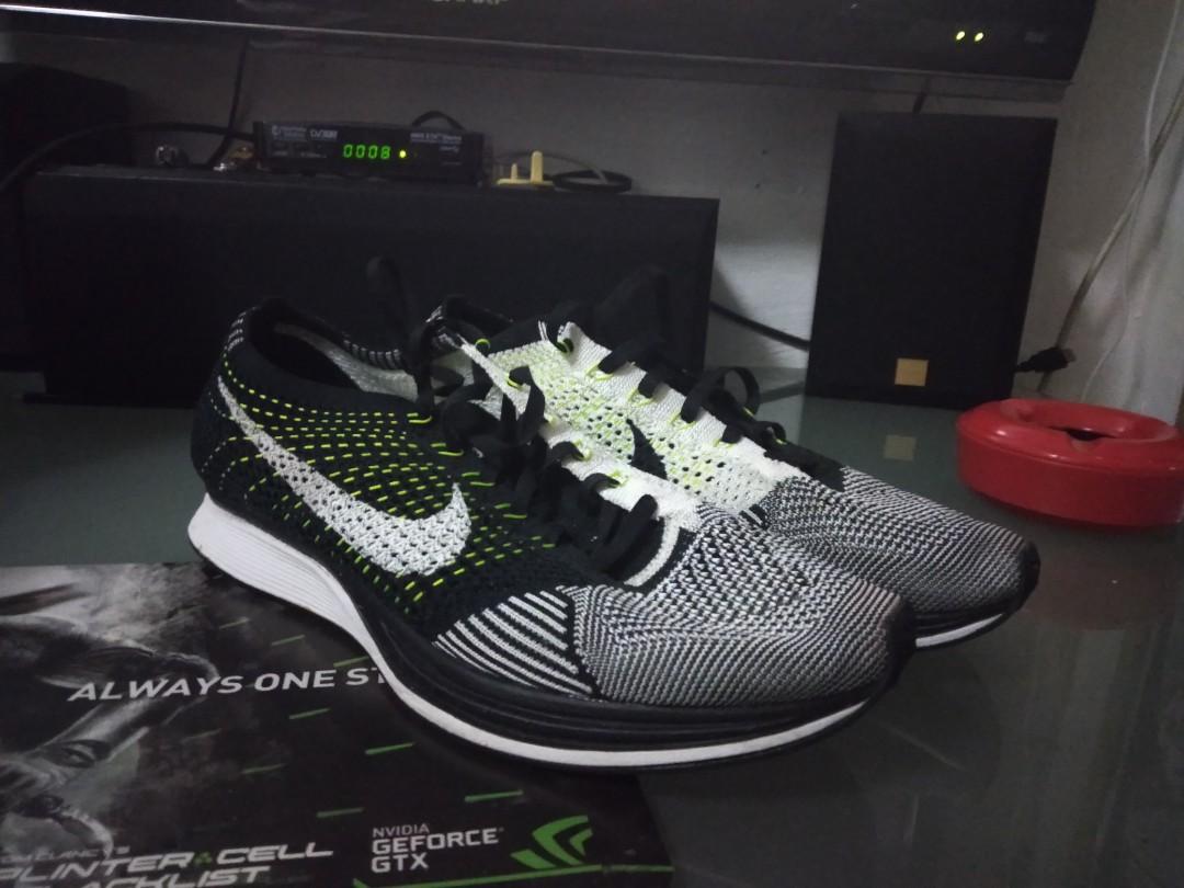 1e36c7c36fea3 Nike Flyknit Racer Volt