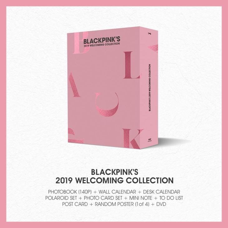 [PO] BLACKPINK'S 2019 WELCOMING COLLECTION