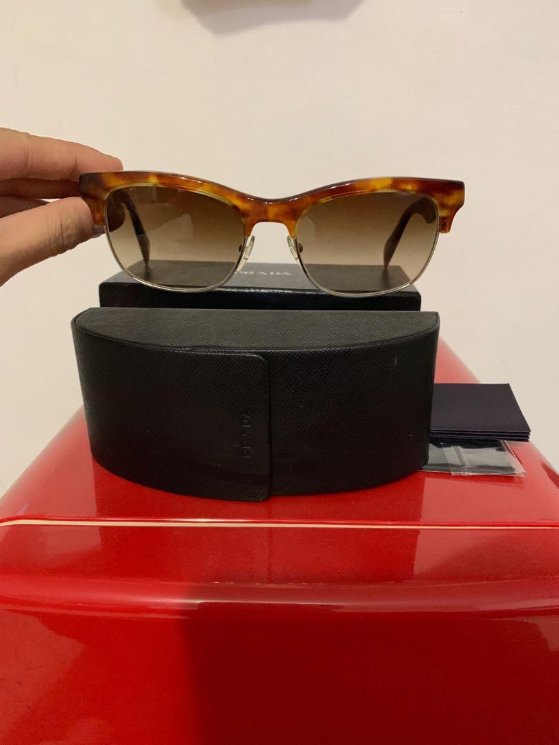 53d641d002 Prada Tortoise Shell Sunglasses