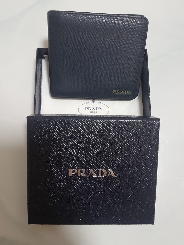 a33f23b44cdd1c Prada Wallet Bifold Mens, Men's Fashion, Bags & Wallets, Wallets on ...