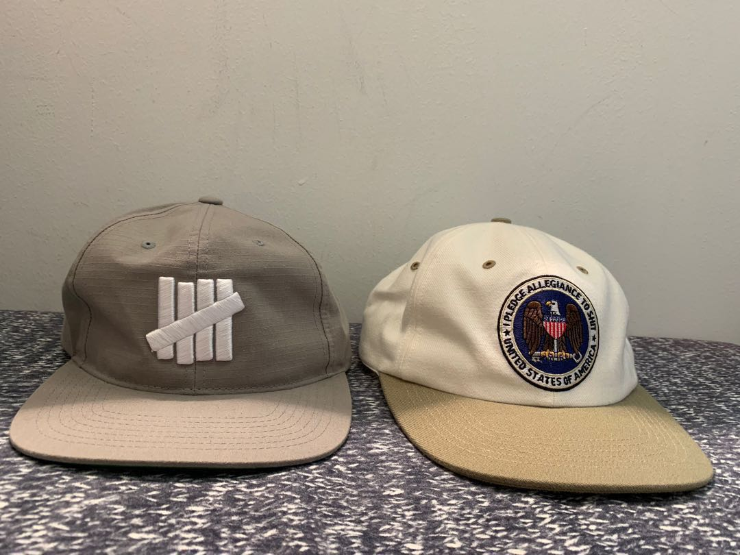 5a9860a5 Pristine Condition Undefeated & Supreme Cap Priced For Quick Sale ...