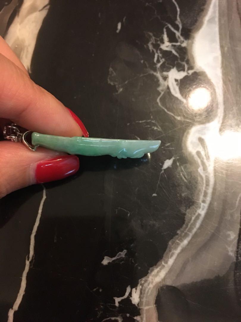 Real jade pendant 天然翡翠吊墜