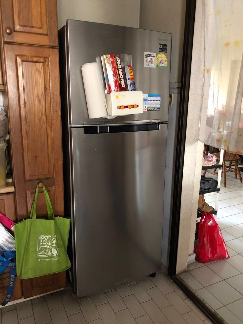 Refrigerator by Samsung with 10 years warranty for compressors and self  collect from Hougang