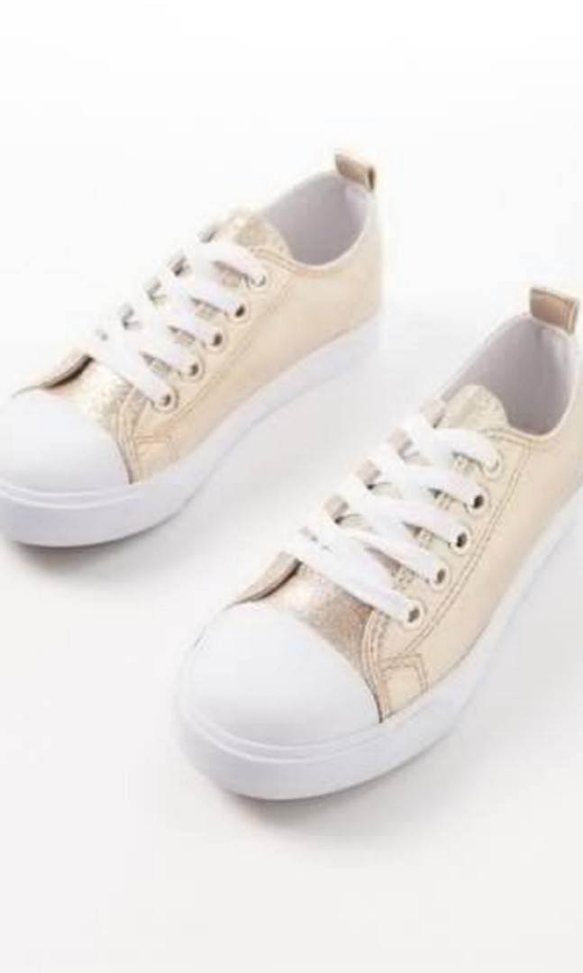 9f0975c8a8e8 Ruby Cotton On Brand New Gold Shoes