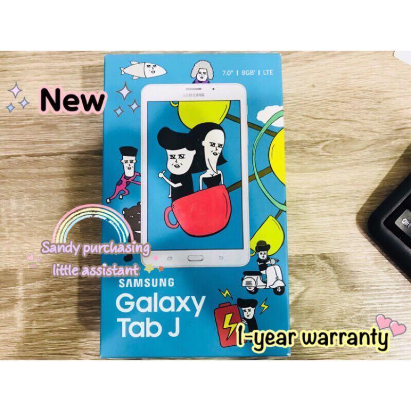 SAMSUNG TabJ 平板 白色 面交 全新 公司貨 TabJ平板 三星 TabJ空機 現貨 保固 TabJ 七吋