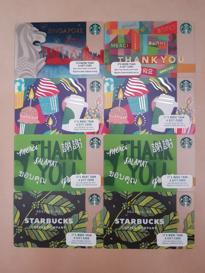 Starbucks Gift Cards Entertainment Vouchers On Carousell