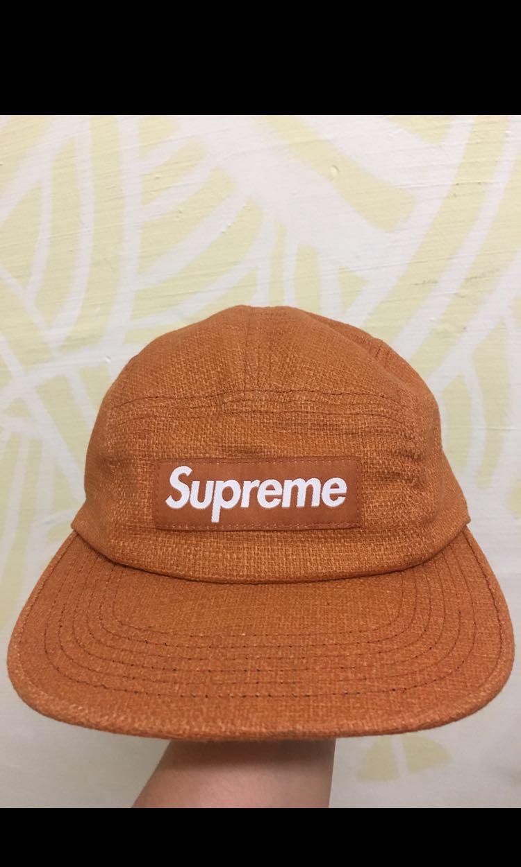 """c1d34ffdf07 Supreme FEATHERWEIGHT WOOL CAMP """"orange"""""""