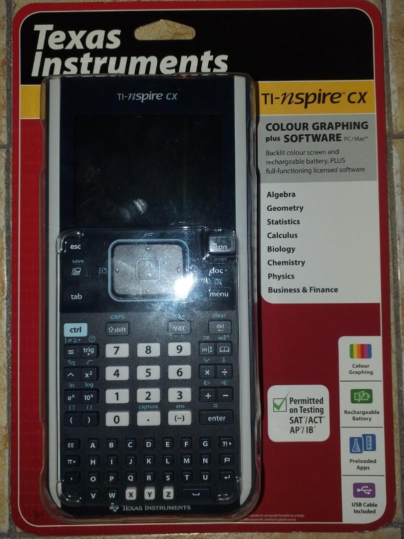 Ti-inspire CX Graphing Calculator
