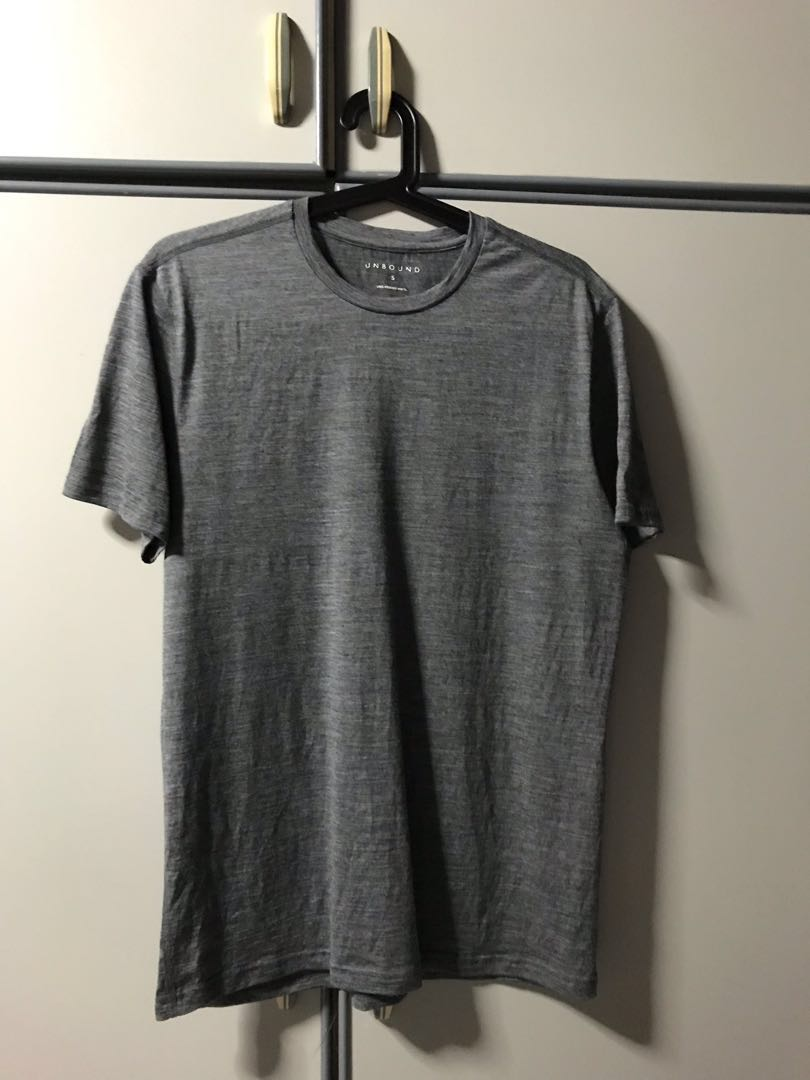 0da5261d8427c1 Unbound Merino Wool T-Shirt, Men's Fashion, Clothes, Tops on Carousell