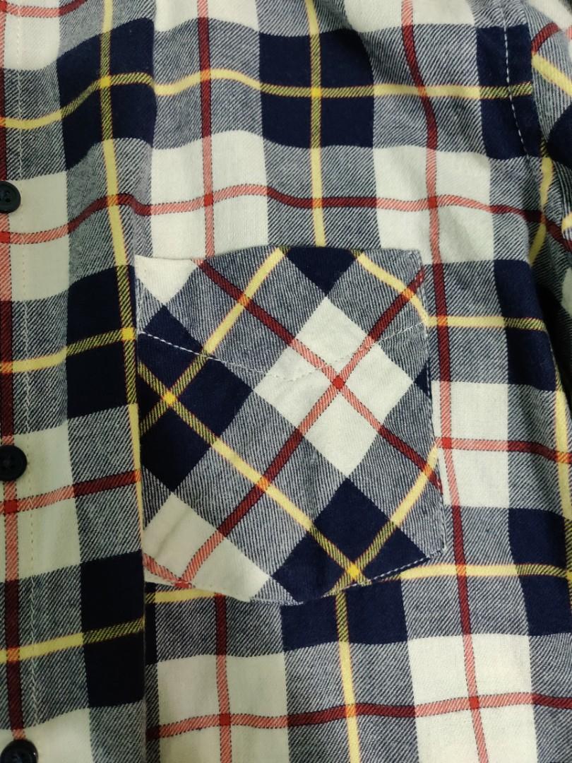 Uniqlo Checkered Top