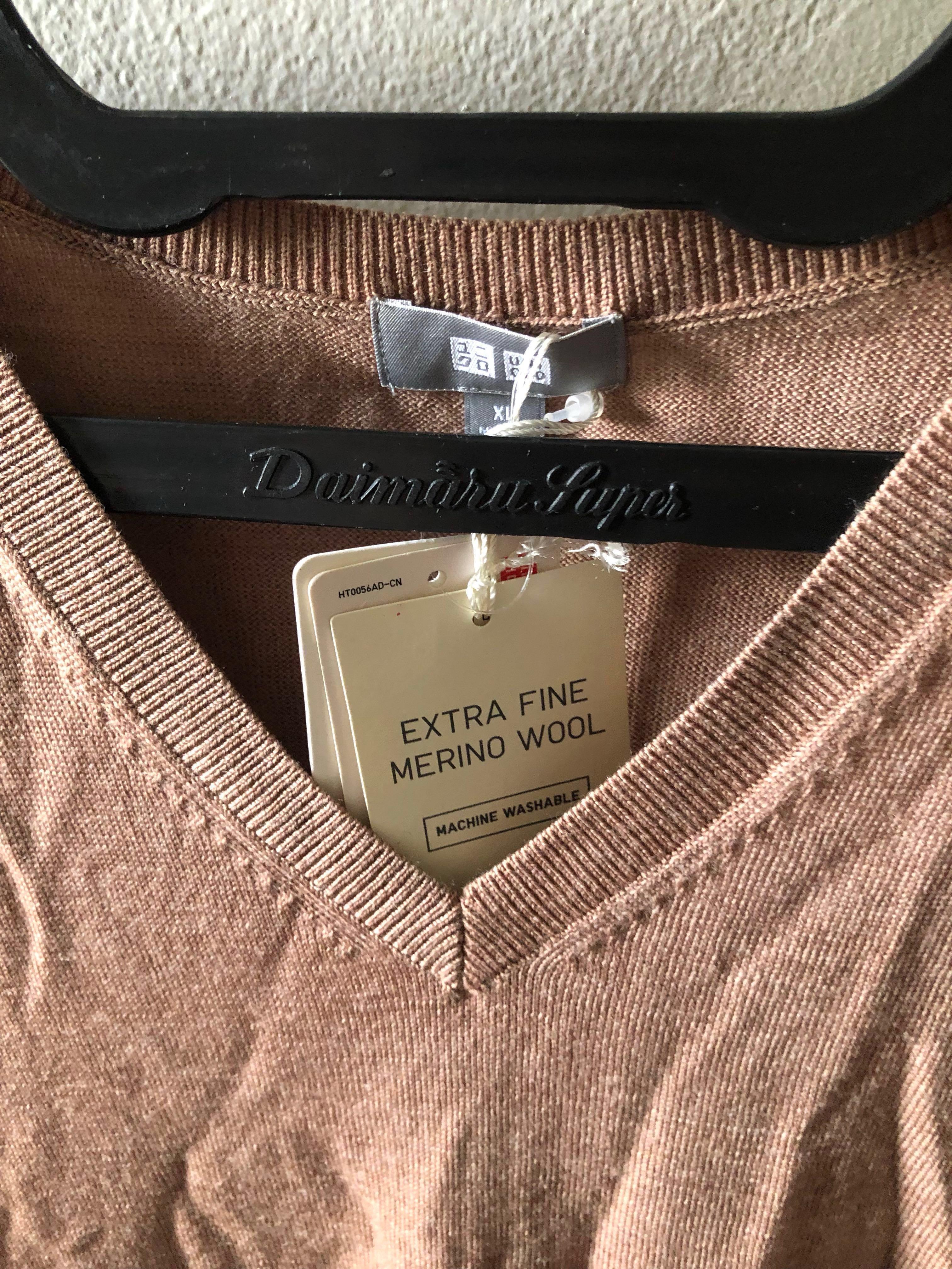 Uniqlo Merino Wool Vest