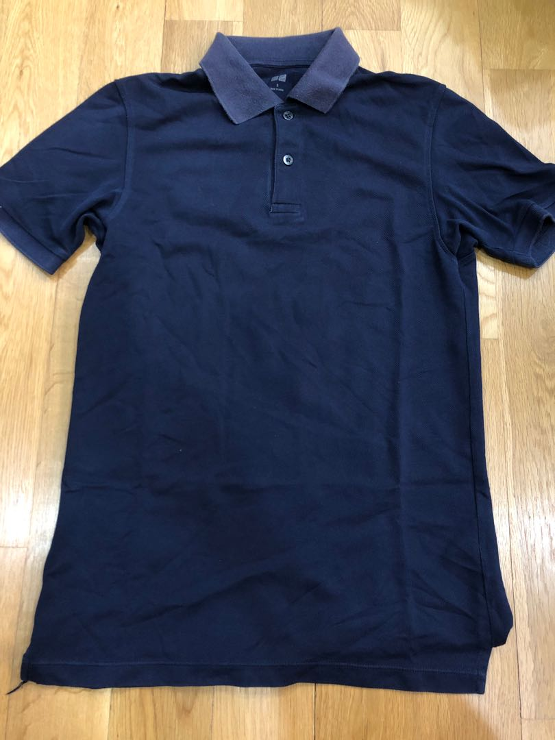Uniqlo Polo Tee Men S Fashion Clothes Tops On Carousell