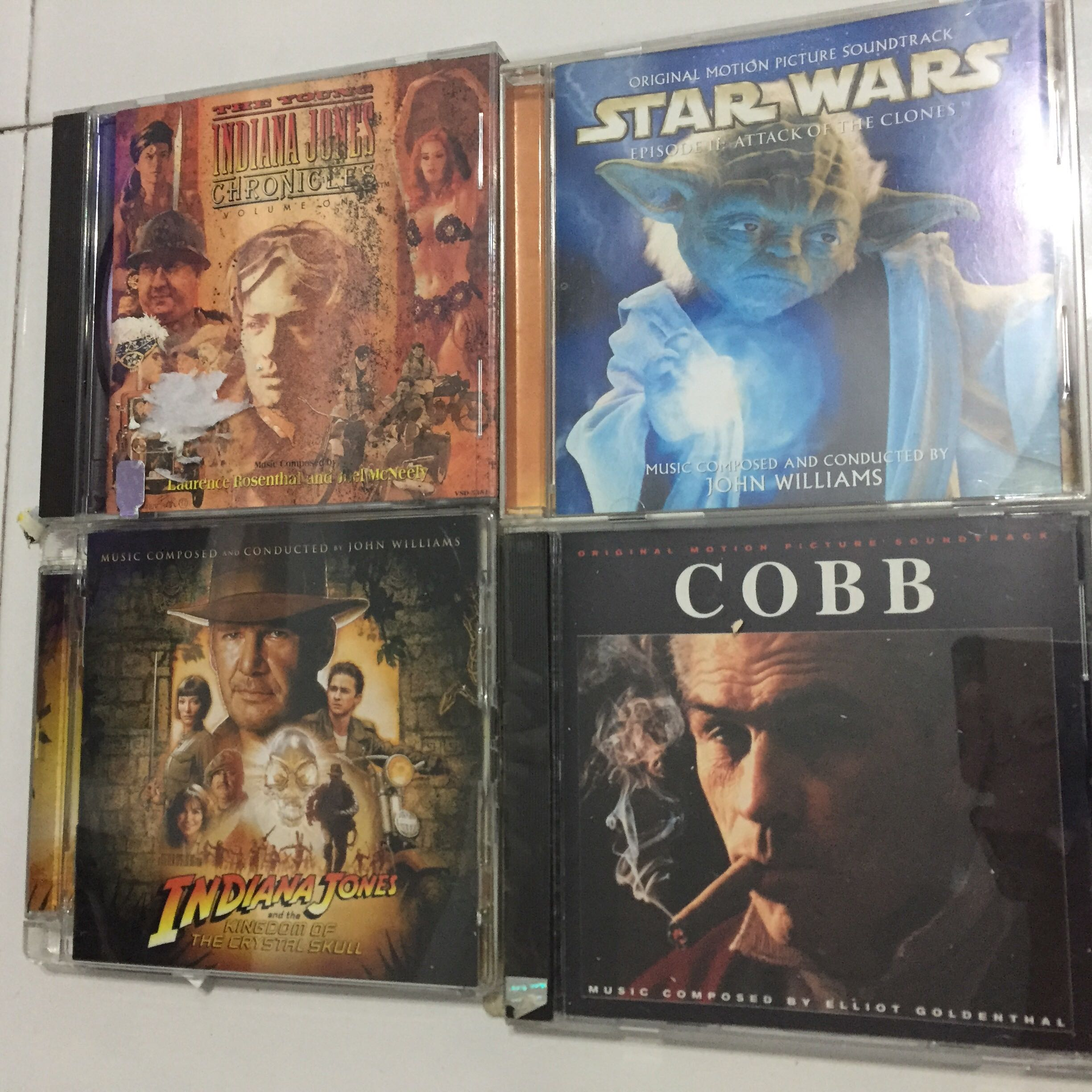 Used Movie soundtracks cds  Each for $12-16  Buy more got discount