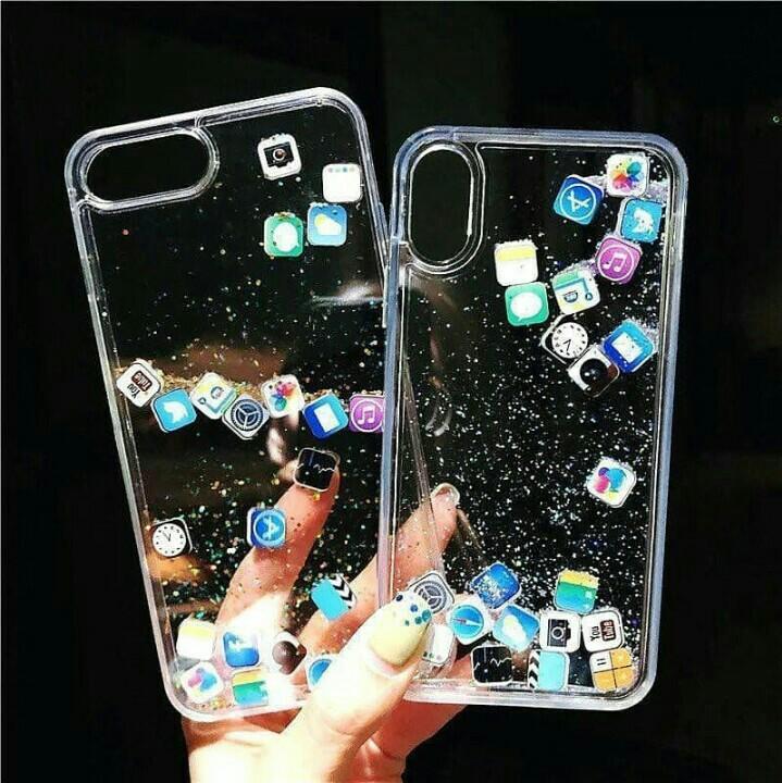 Water glitter apps sosmed