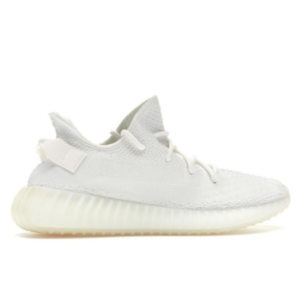 WTS Adidas Yeezy Boost 350 V2 Cream Triple White, Men's