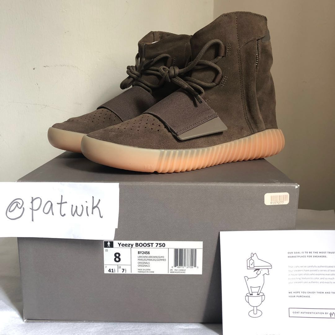98c8b0204 Yeezy Boost 750 Chocolate US8
