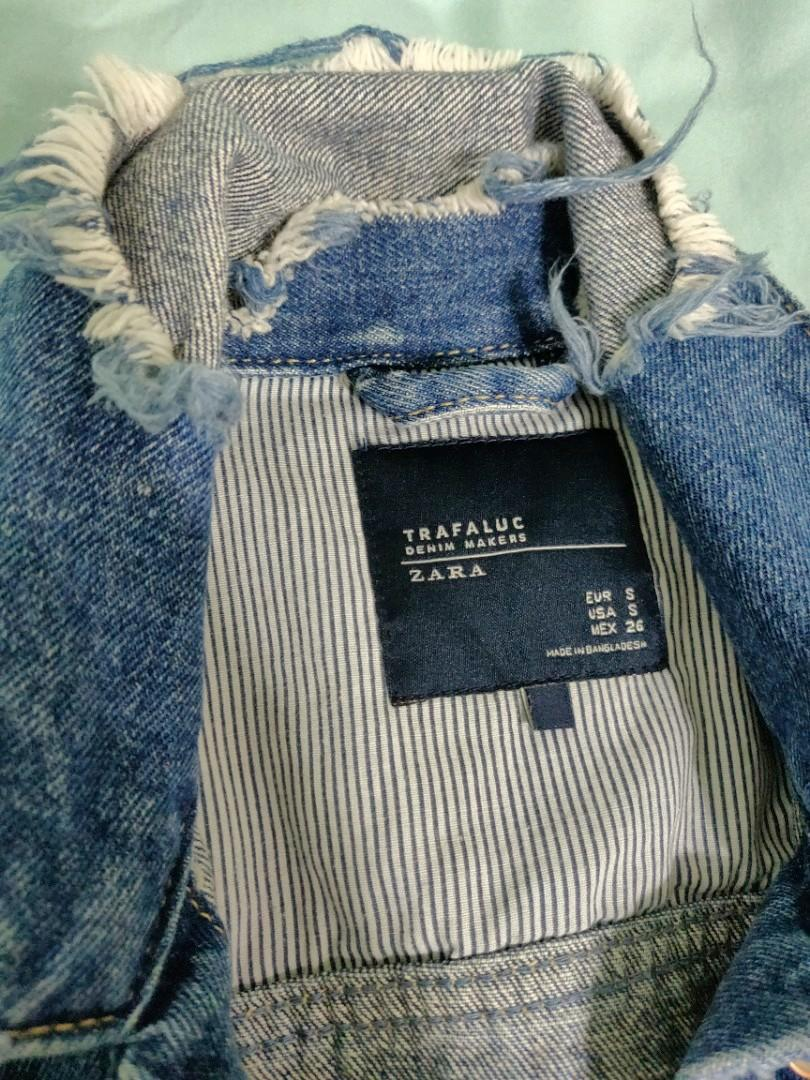 Zara Denim Jacket (size S)