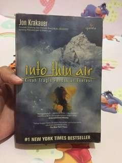 Into Thin Air - Jon Keakauer