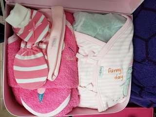 mides 初生女嬰禮盒