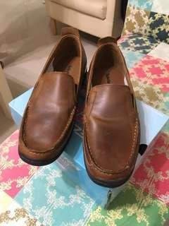 Timberland真皮無綁帶休閒鞋👞
