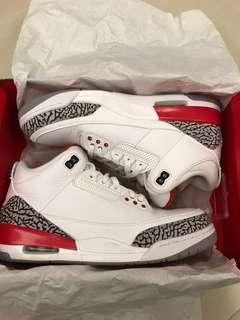 Us10 Nike Air Jordan 3 retro