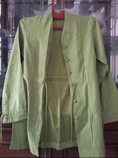 #CNY2019 kemeja blazer mint