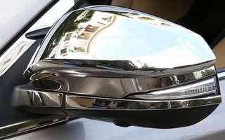 Toyota Harrier Turbo Chrome Mirror Cover ZSU60/ASU60