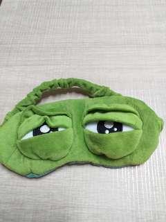 搞笑青蛙眼罩