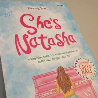 She's Natasha - Thiarany Putri [STOCK TERBATAS]