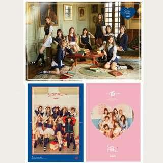 [FINAL CLEARANCE] TWICE POSTERS