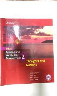 New Reading and Vocabulary  Development 2: Thoughts and Notions