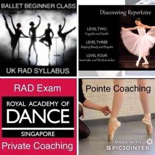 Ballet Class - Royal Academy of Dance Syllabus