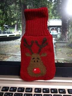 🚚 全新 超可欸麋鹿聖誕風格 聖誕襪保溫袋