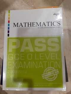 Mathematics by topic Assessment book O level