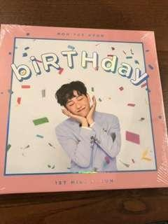 WTS: NOH TAEHYUN BIRTHDAY ALBUM (all included except photocard)