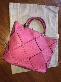 Authentic Salvatore Ferragamo pink handbag
