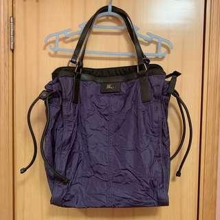 Burberry purple bag 紫色袋