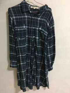 🚚 Checkered tunic dress