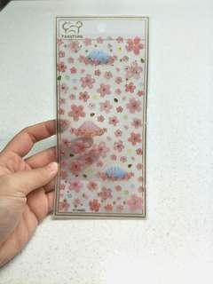 🚚 Mout Fuji Sakura Stickers