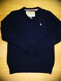 Jack Wills Knit Wear Cashmere Navy