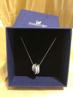 Swarovski White Cystal Pendant Necklace (New)