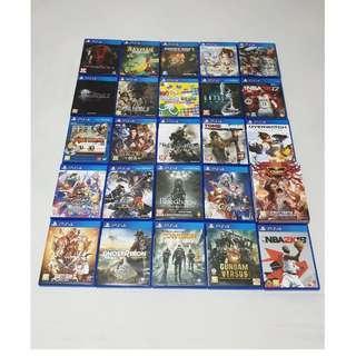 PS4遊戲們(詳細介紹、價格請見內文)