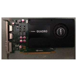 NVIDIA Quadro K2000 2GB GDDR5 Graphics card