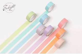 🚚 (12 rolls) Macaroon themed washi tape (po)