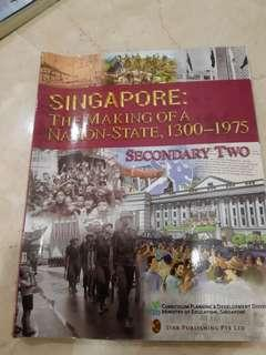 Sec 2 History text Singapore tge making of a nation state