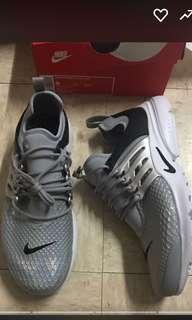 Nike W air presto lotc qs wolf grey 魚骨慢跑運動鞋us9