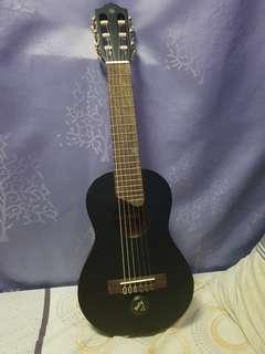 YAMAHA GUITALELE GL-1 RARE BLACK with Pickup And Bag