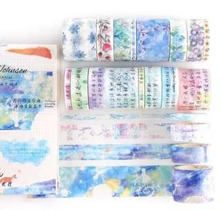 (8 rolls set) washi tape (po)