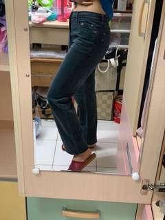 BOBSON 重磅中腰牛仔長褲(二手)