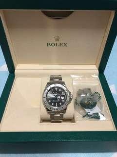 🚚 Rolex yatch master 116622 (rodium)40mm